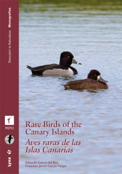 Rare Birds of the Canary Islands / Aves raras de las Islas Canarias book cover image